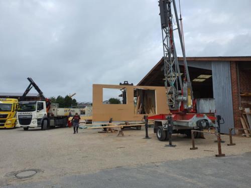 Heiming Zimmerei - Holzrahmenbau Schule Bottrop 1