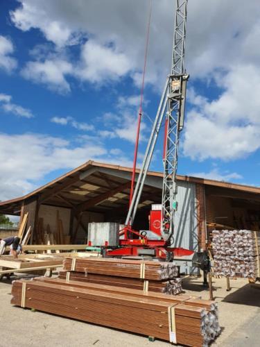 Heiming Zimmerei - Holzrahmenbau Schule Bottrop 3